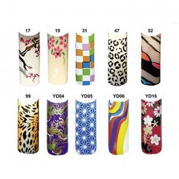 Nailart Design Tips 70 Stck. in Tipbox