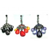 "Chandelier Earrings ""TRIPOLIS"" in 3 Colours"