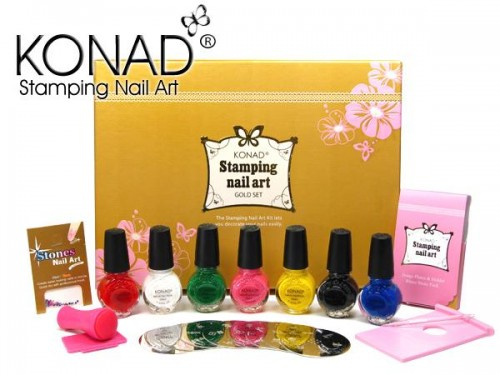 Nailart stamping set gold edition new design konad nailart stamping set gold edition new design prinsesfo Gallery