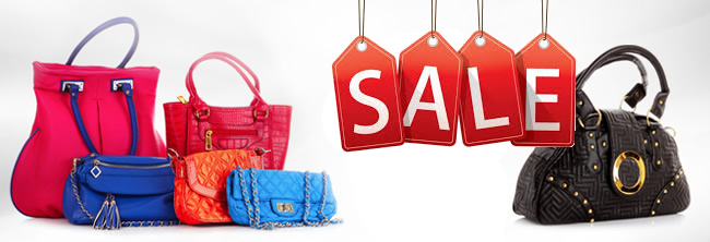 % SALE bags