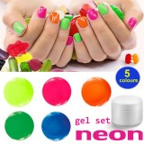 NEON Gel Set 5 x 5 ml – Colaxy Premium