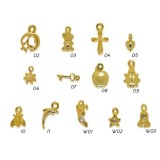Nail Piercing - GOLD - 24 Carat gold-plated