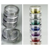 Stacking Containers  for Nail Art  / Nail-Art Döschen leer
