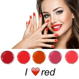 I Love Red Colorgel Set 5 x 5 ml