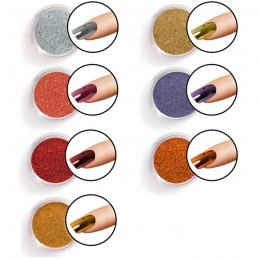 Mirror chrome pigment powder
