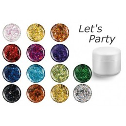 Party Sequined UV Glitter Gel 5 ml
