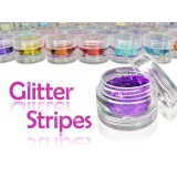 Glitterstripes (5 ml jars)