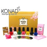 "KONAD® Nailart Stamping-Set ""Gold Edition"" -  New Design"
