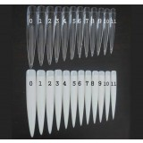 Stiletto Tips 12pc pack – extralarge