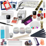 Nail studio Acrylic Starter Kit with Colors & Nail art - No. 93