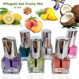 Cuticle oil set fruity mix 6x 5ml