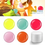 Feel Free Runaway color gel set 5 x 5 ml