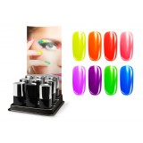 UV Polish NEON- Set in Sales Display 11 pcs.
